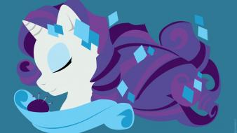 Pony pony: friendship is magic rarity fim wallpaper