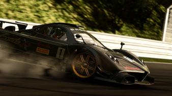 Project cars pagani zonda r game track wallpaper