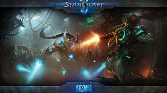Protoss sarah kerrigan queen of blades starcraft wallpaper