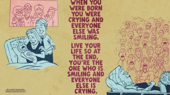 Ralph waldo emerson crying laughing motivational quotes wallpaper