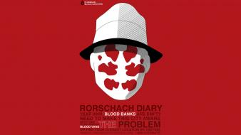 Rorschach watchmen fan art movies Wallpaper