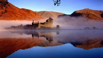 Scotland architecture buildings castle castles wallpaper