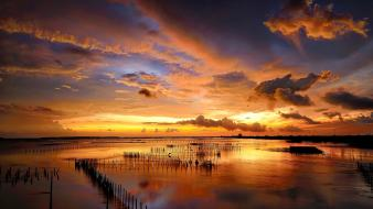 Seascape beaches landscapes nature sea wallpaper