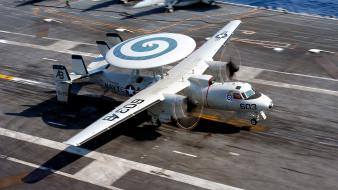 2005 awacs e-2c hawkeye us navy aircraft wallpaper