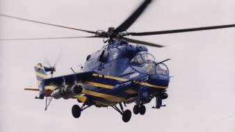 Aircraft blades blue helicopters sky Wallpaper