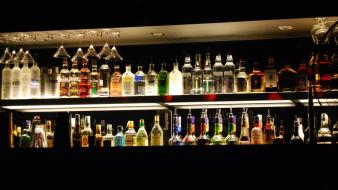 Alcohol bar drinking gin liquor wallpaper