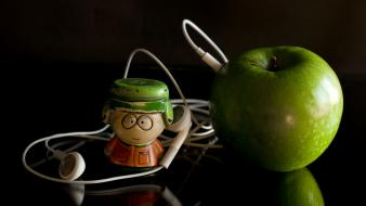 Apple kyle broflovski south park apples ipod wallpaper