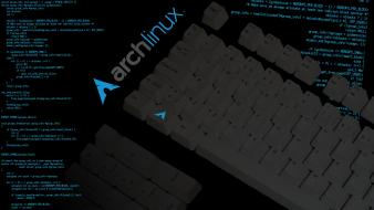 Arch linux keyboards wallpaper