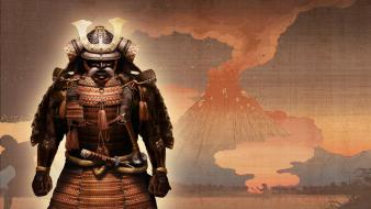 Asia shogun 2 artwork male samurai Wallpaper