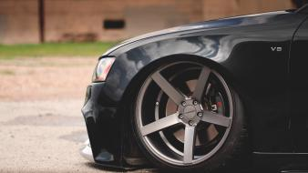 Audi s5 cruel intentions hella flush vossen black Wallpaper