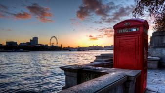 Booth london eye river thames united kingdom wallpaper
