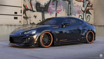 Brz nero subaru cars engines wallpaper