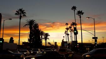 California los angeles boulevard grimm sunset Wallpaper