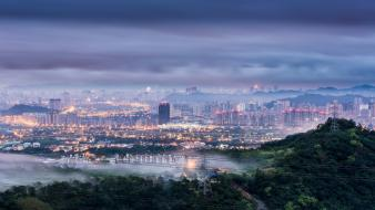 China taipei cities city lights cityscapes wallpaper