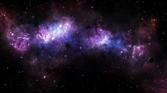 Colors outer space planets stars wallpaper