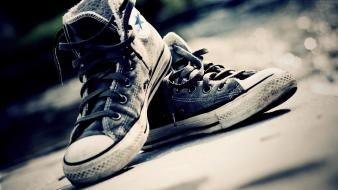 Converse all star sepia shoes wallpaper