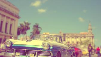 Cuba ford cars vintage wallpaper