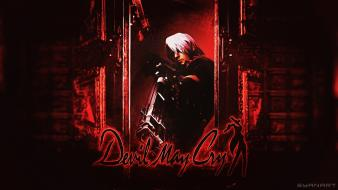 Dante devil may cry cover Wallpaper