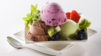 Desserts food art ice cream Wallpaper