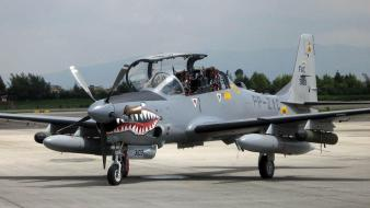 Emb-314 super tucano aircraft airforce air force wallpaper