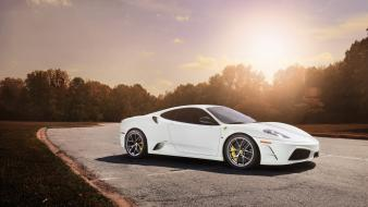 Ferrari f430 scuderia white Wallpaper