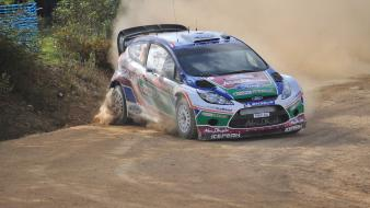 Ford fiesta wrc portugal world rally championship wallpaper