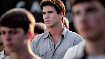 Gale hawthorne liam hemsworth the hunger games wallpaper
