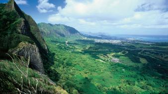 Hawaii landscapes mountains Wallpaper