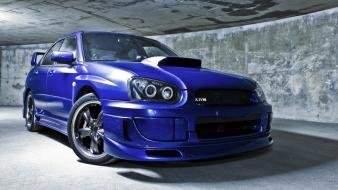 Hdr photography subaru impreza wrx sti cars wallpaper