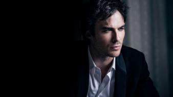 Ian somerhalder men suit wallpaper