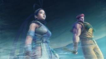 Ibuki rolento street fighter x tekken wallpaper