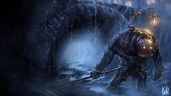 League of legends riot games yorick artwork paintings wallpaper