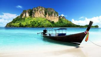 Long island thailand boats Wallpaper