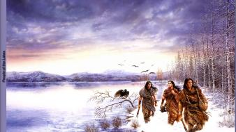Luis royo dreams fantasy art lakes wallpaper