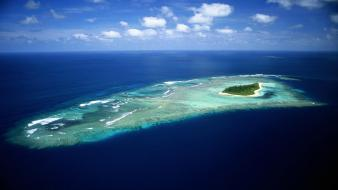Maldives beaches islands nature sea wallpaper