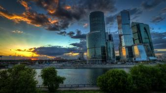 Moscow architecture business cityscapes international Wallpaper