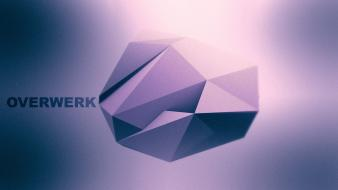 Overwerk abstract backgrounds digital art geometry wallpaper