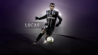 Paris saint-germain f.c. football players soccer sports wallpaper