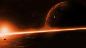 Planetside astronomy calm outer space planets Wallpaper