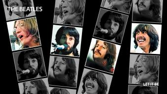 Rock music the beatles cover art wallpaper