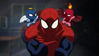 Spider-man angels demons wallpaper