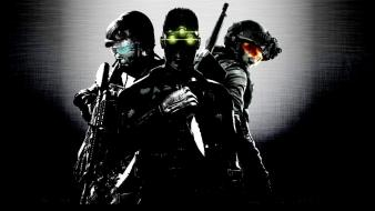 Splinter cell goggles night vision soldiers video games wallpaper