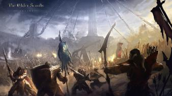 The elder scrolls online artwork war wallpaper