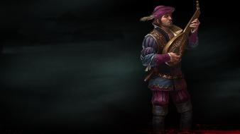 The witcher 2 assassins of kings bard Wallpaper