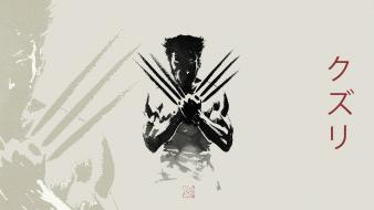 Wolverine x-men: origins digital art movie posters wallpaper