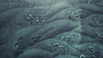 Abstract textures waves Wallpaper