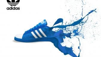 Adidas dripping shoe wallpaper
