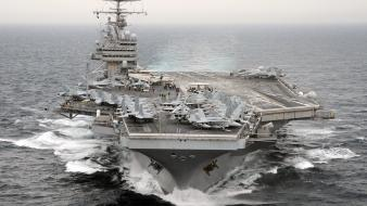 Aircraft carriers sea weapons wallpaper