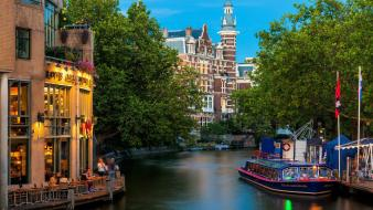 Amsterdam cities cityscapes wallpaper