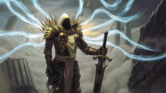 Archangel diablo iii tyrael artwork wallpaper